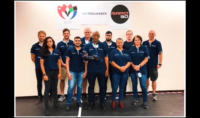 UKZN and NMU Represent SA in Global CYBATHLON Powered Arm Prosthesis Race